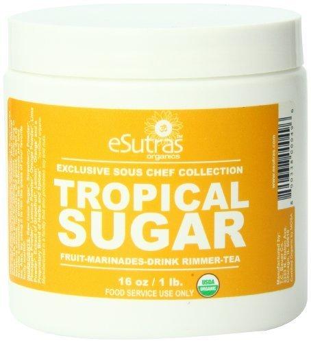 Esutras Organics Sugar, Tropical, 16 Ounce by eSutras Organics