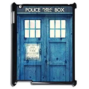 C-EUR Cover Case Doctor Who TARDIS Police Call Box customized Hard Plastic case For IPad 2,3,4