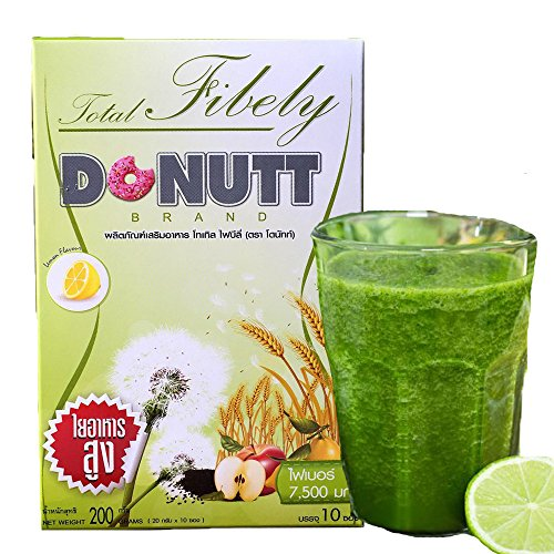 (Detox Total Fibely Donutt Brand Detoxification Care & Cleaning Colon and Excretory)