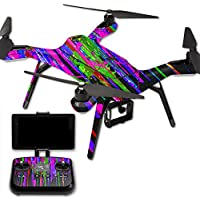 MightySkins Protective Vinyl Skin Decal for 3DR Solo Drone Quadcopter wrap cover sticker skins Drips