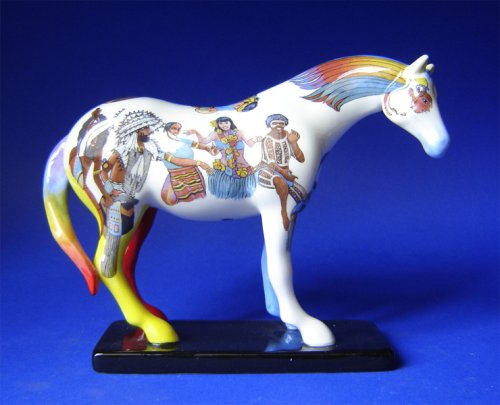 - Trail of Painted Ponies - Native Peoples Pony by Westland Giftware - 12224