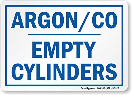 Argon Co, Empty Cylinders, Diamond Grade Reflective Alumi...