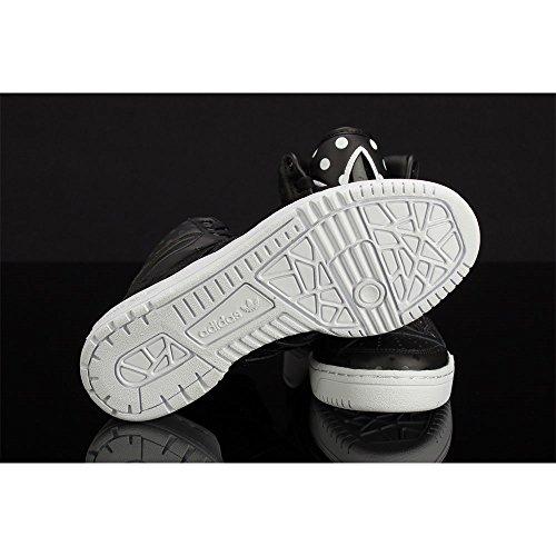Adidas - M Attitude Logo EF W - D65172 - Color: Blanco-Grafito-Negro - Size: 39.3