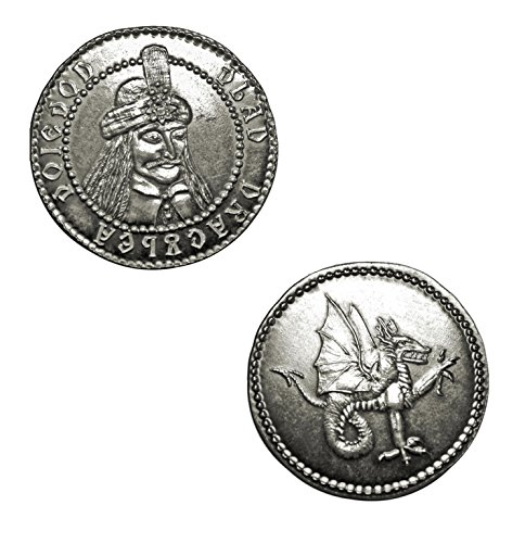 Dracula: Three Ducat Coin of Vlad Dragulea By Shire Post Mint by Shire Post Mint