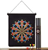 PrimeTrendz TM Brand New Large Magnetic Dartboard Dart Board Game W 6 Darts.