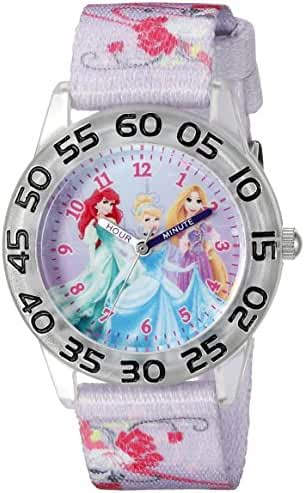 Disney Infinity Kids' W002472 Princess Analog Display Analog Quartz Purple Watch