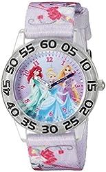 Disney Infinity Kids' W002472 Princess Analog Display Analog Quartz Purple Watch