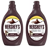 Hershey's, Sugar Free Milk Chocolate Syrup, 17.5 Oz (Pack of 2)