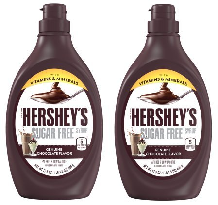 Price comparison product image Hershey's,  Sugar Free Milk Chocolate Syrup,  17.5 Oz (Pack of 2)