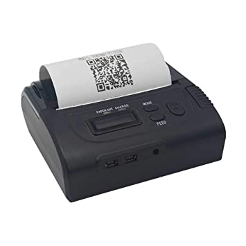 Dmosster Impresora Termal portátil de Punto de Venta con ...