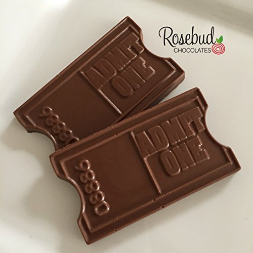 Chocolate ADMIT ONE Ticket Candy Party Favors