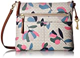 Fossil Fiona Large Crossbody Bag, Floral Multi/White,One Size