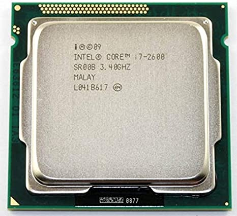 OEM Intel Core i7-2600 Processor 3.4GHz 5.0GT//s 8MB LGA 1155 CPU CM8062300834302 Renewed