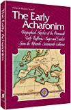 img - for Artscroll: The Early Acharonim by Hersh Goldwurm book / textbook / text book