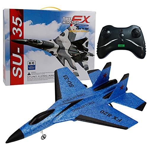 Waymine SU-35 RC Remote Control Helicopter Plane Glider Airplane EPP Foam 3.5CH Toys - Control Remote Helicopter Army