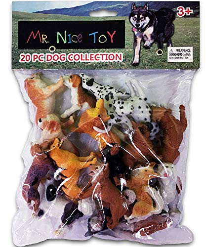 New Mr. Nice Toy 20 Piece Dog Collection Assortment 2