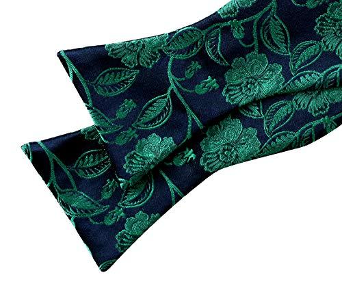 Auto carreaux homme paisley Violet pois Foncé noué nœud Papillon Alizeal qnYP6ZO6