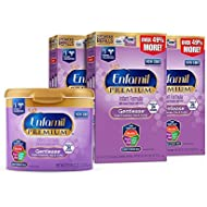 Enfamil PREMIUM Non-GMO Gentlease Infant Formula - Clinically Proven to reduce fussiness, gas, crying in 24 hours - Reusable Powder Tub & Refills, 118.1 oz