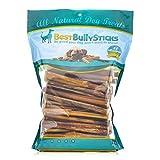 6 Inch Standard Odor Free Bully Sticks - 100 Pack
