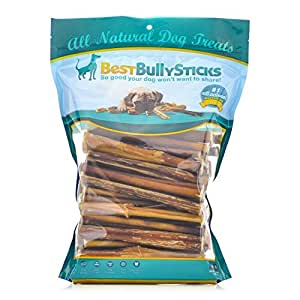 6 inch standard odor free bully sticks 100 pack pet odor and stain removers. Black Bedroom Furniture Sets. Home Design Ideas