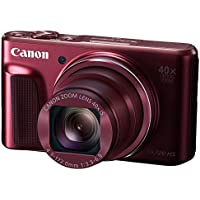 Canon PowerShot SX720 HS Digital Camera (Red) - International Version