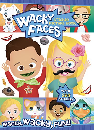 Bendon Wacky Faces Create-A-Face Sticker Book for sale  Delivered anywhere in USA