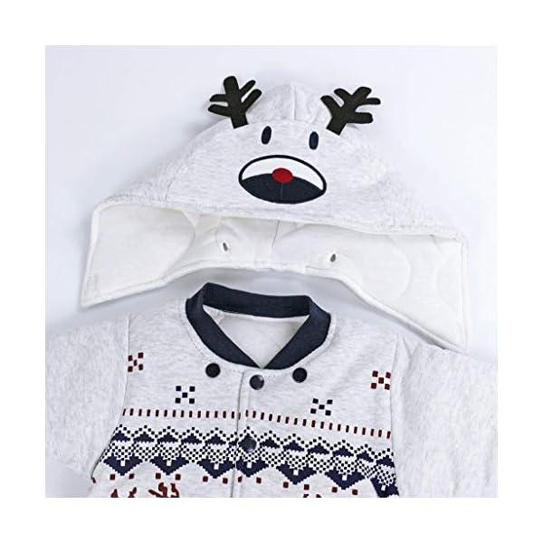 Bambino Ragazze Ragazzi pagliaccetto Neonato addensare Snowsuit Autunno inverno infantile tute attrezzatura 6 mesi Vine 3