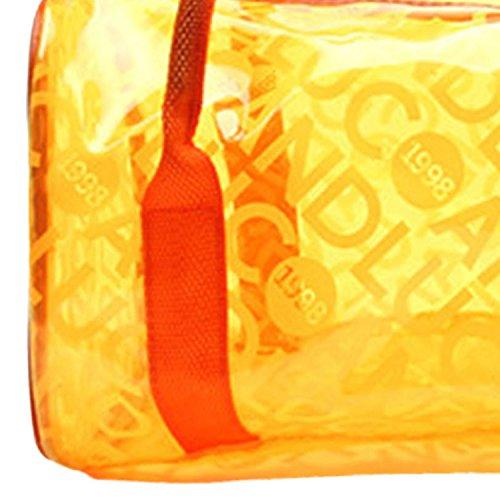 Azul Asas Deportes para Impermeable Panegy Bolso Playa de Fitness con Bolsa de Mano Moda Natación Naranja Transparente xqPIFZ