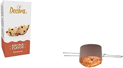 Party store web By casa dolce casa Set Preparazione PANETTONE Artigianale Natale 20 CANASTE da 1 kg,1 SPILLONE per PANETTONE, 20 Buste per PANETTONE in Polypropylene Kit N/°75 CDC