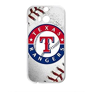 DAZHAHUI Texas Rangers Fahionable And Popular Back Case Cover For HTC One M8