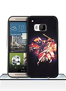 Game Sword Art Online Funda Case For HTC One M9, Drop Protection Extra Slim Customized Pretty Vintage Pattern Hard Back Funda Case Cover For HTC One M9