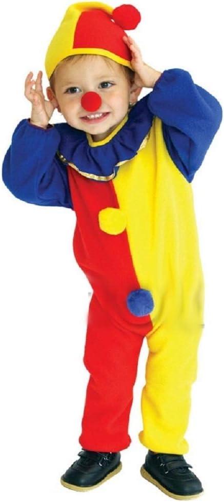 Talla s - 3/4 años - disfraz - carnaval - halloween - payaso ...