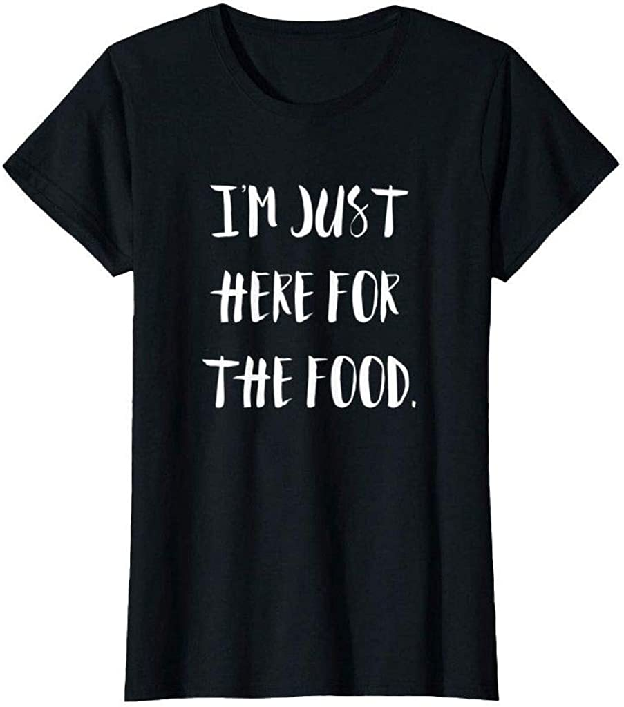 Partners & Fay I'm Just Here for The Food Funny Thanksgiving Holidays T Shirt