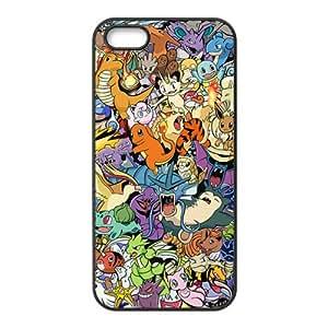 Pokemon unique cartoon design fashion Cell Phone Case for Iphone 5s