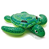 Intex Lil' Sea Turtle Ride-On, 59'' X 50'', for Ages 3+