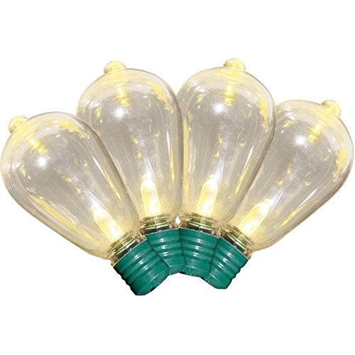 Holiday Time 35 Count Super Bright Warm White LED Edison