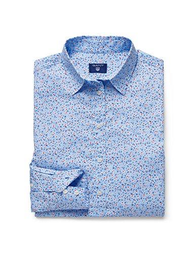 Gant Women's Women's Shirt With Floral Print 420 Hamptons Blue