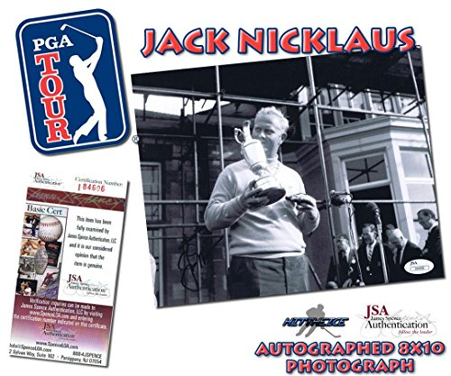 Jack Nicklaus Signed Picture - 8x10#I84606 - JSA Certified - Autographed Golf ()