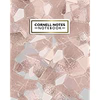 Cornell Notes Notebook: Awesome Cornell Notes Medium Lined Paper Notebook - College Ruled Journal Note-Taking System for…