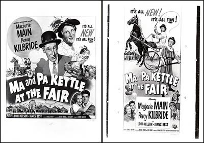 Ma and Pa Kettle At The Fair - Authentic Original 10