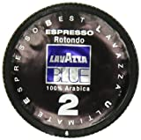 Lavazza BLUE Capsules, Espresso Rotondo 2 Coffee Blend, Dark Roast, 28.2-Ounce Boxes (Pack of 100)