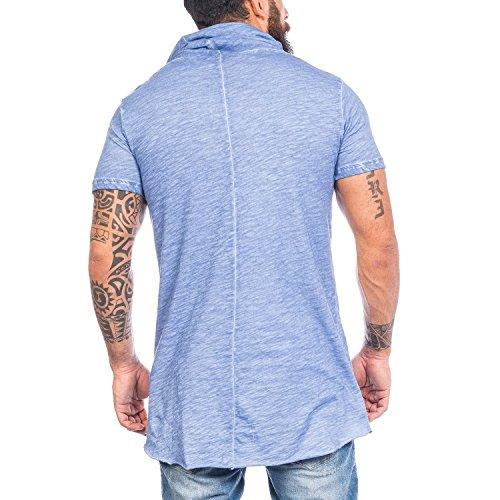 Redbridge Swag M1022 - Camiseta grande para hombre Azul