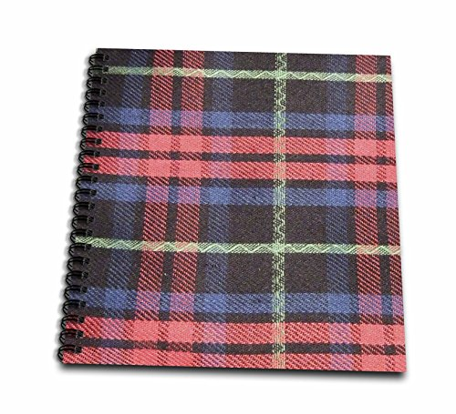 3dRose Traditional Scottish Tartan Pattern - Plaid Checks...