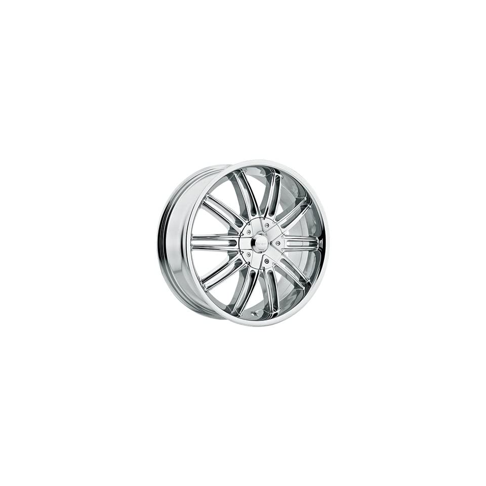 Incubus Prisa 16x7 Chrome Wheel / Rim 4x100 & 4x4.5 with a 38mm Offset and a 73.00 Hub Bore. Partnumber 821670810+38C