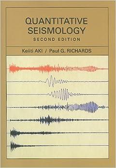 Book Quantitative Seismology by Keiiti Aki (2009-03-25)