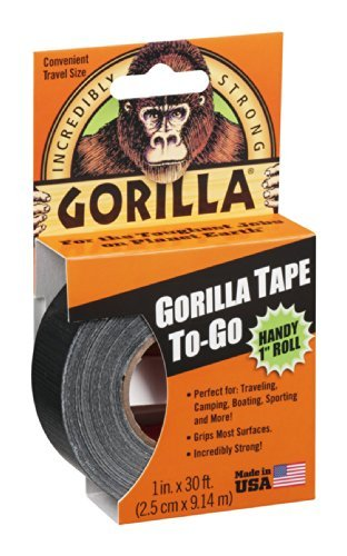 Gorilla Tape To-Go Practical 1 Roll 1 IN (Pack of 18) by Gorilla