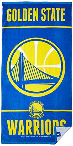 WinCraft NBA Golden State Warriors Fiber Beach Towel, 9lb/30 x 60 ()