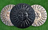 SUN & MOON CONCRETE PLASTER PLASTIC MOLDS STEPPING STONE GARDEN PATH #S11 For Sale