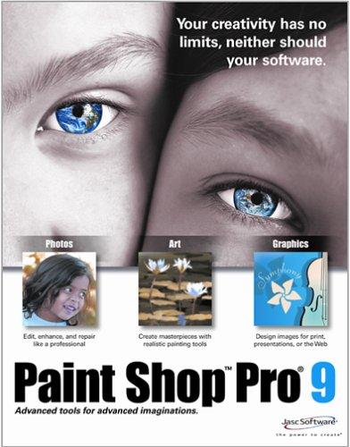 jasc paint shop pro 9 free