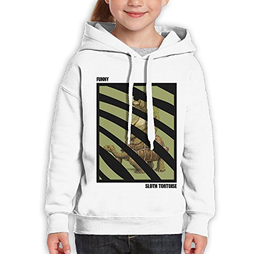 Cool Sloth With Sunglasses Riding On Tortoise Girl Classic Guys Cool Hoodies - On White Guys Sunglasses